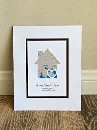 The Perfect Thoughtful Gift Or Personal Memento This Personalized Map Makes Housewarming