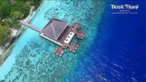 100 Dusit Thani Maldives Resort Ultimate Luxury Hotel YouTube