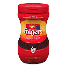 Folgers Classic RoastR Instant Coffee Crystals