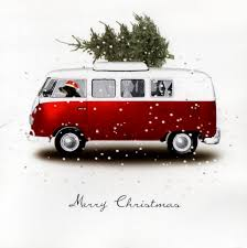 Best Christmas Tree Type by Vintage Vw Van Christmas Card This Was How We Brought Home Our