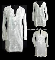buy designer long sleeve cotton tunics from online shop buy long