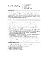 Optical Sales Manager Resume Sample