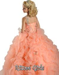 ritzee girls pageant dress 6569
