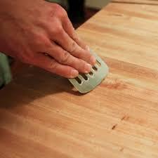 arbeitsplatten und schneidebretter aus holz richtig pflegen