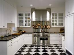 popular kitchen floor tiles in black and white my home design