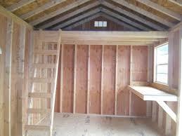 storage shed used sheds utility side 10x16 6107 fisher sheds