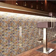 adhesive mosaic tile backsplash kitchen adhesive