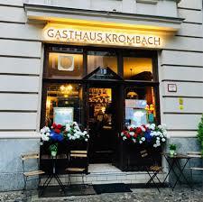gasthaus krombach berlin deutsche küche und berliner