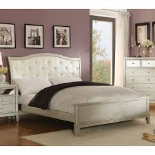 Wayfair Sleigh Bed by Arch Tufted Shantung Upholstered Bed Hayneedle