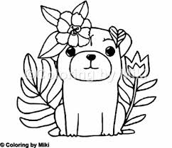 Pug Dogs Coloring Page 180 Design Coloringpages