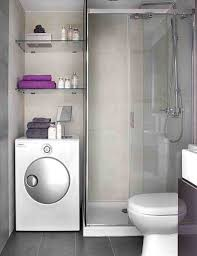 Placement Creating Home Rhcom Washing Tiny House Bathroom With Washer And Dryer Machine