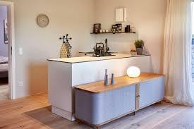 moderne küche klein offen küchen einrichtung ideen