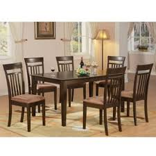 Seven Piece Dining Room Set by Shop Dining Sets At Lowes Com
