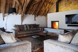 Grade II Listed Medieval Barn Conversion Bude Cornwall UK Rustic Living