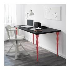 Linnmon Corner Desk Dimensions by Amazon Com Linnmon Desk Table Top 47 Inch With Feltectors Black