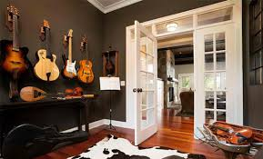 Home Music Studios With Cozy Cottage Style