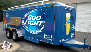 100 Bud Light Truck GOTSHADEonline Custom Vehicle Wraps Window Tinting Racing Stripes