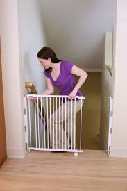 Amazon.com : Regalo Top Of Stairs Expandable Metal Gate, With ... Baby Gate For Stairs With Banister Ipirations Best Gates How To Install On Stairway Railing Banisters Without Model Staircase Ideas Bottom Of House Exterior And Interior Keep A Diy Chris Loves Julia Baby Gates For Top Of Stairs With Banisters Carkajanscom Top Latest Door Stair Design Wooden Rs Floral The Retractable Gate Regalo 2642 Or Walls Cardinal Special Child Safety Walmartcom Designs