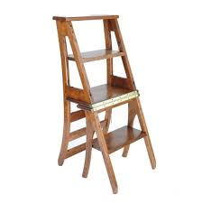 Amazon.com: Modern Furniture Wood Folding Ladder Chair Fold ...