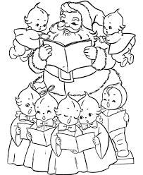 Christmas Coloring Pages For Kids Carol