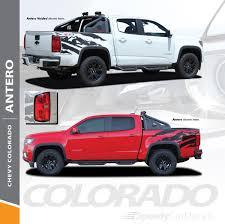 100 Truck Bed Decals Chevy Colorado Vinyl Graphics ANTERO 2015 2016 2017 2018 2019