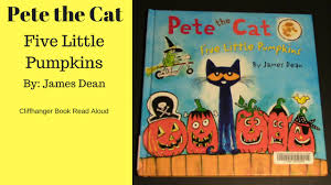Books About Pumpkins For Toddlers pete the cat five little pumpkins childrens book read aloud