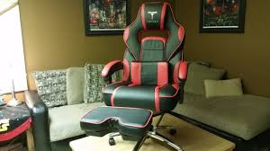 Video Gaming Chair With Footrest by Topsky Racing Computer Gaming Chair Unboxing And Review Youtube