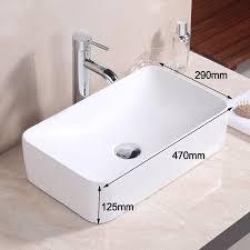 lexonelec über aufsatzwaschbecken waschbecken modernes