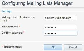 Create a Mailing List in Plesk Media Temple