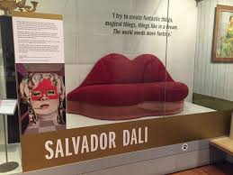 Salvador Dali Mae West Lips Sofa 1938 by Brighton Museums On Twitter