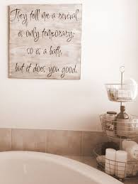 Rustic Bathroom Wall Art Ideas Decor Yellow Inspirations 2017 Vertical