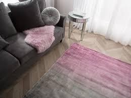 teppich ercis grau rosa 140x200 cm ch