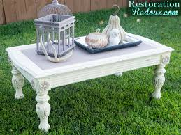 Americana Decor Chalky Finish Paint Colors by Chalky Finish Coffee Table Restoration Redoux