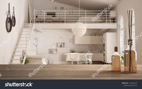 100 One Bedroom Design Wooden Table Top Shelf Aromatic Sticks 1076492216