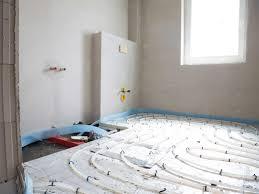 fußbodenheizung im bad badezimmer