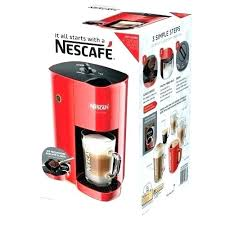 Red Coffee Makers Walmart Nestle Maker Single Cup Machine