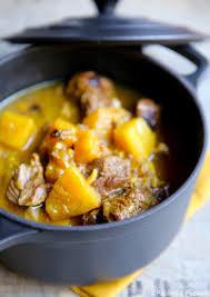 comment cuisiner des joues de porc sauté de porc au curry et ananas