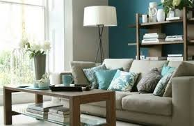 Stunning Gray And Teal Living Room On With Color Ideas