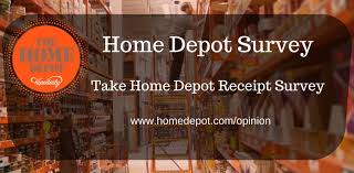 Home Depot Survey Win $5000 Gift Card using Home Depot Opinion