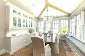 Built In China Cabinet Designs Ideas Dining Room Window Seat