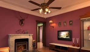 living room ceiling fan fireplace overhead lighting for fans in