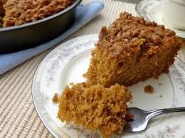 Low Fat Pumpkin Streusel Coffeecake • Simple Nourished Living