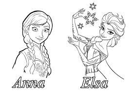 Reine Neige Disney Soeurs2 Coloriage La Reine Des Neiges