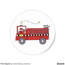 Fire Engine Classic Round Sticker | Fire Engine, Round Stickers And ... Inch Of Creativity The Day After 10 Best Firefighter Theme Preschool Acvities Mommy Is My Teacher Fire Truck Cross Stitch Pattern Digital File Instant Wagon Crafts Pinterest Trucks And Craft Bedroom Bunk Bed For Inspiring Unique Design Ideas Black And White Clipart Box Play Learn Every Sweet Lovely Crafts Footprint Fire Free Download Best In Love With Paper Shaped Card Truck