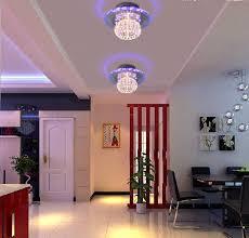 colorpai 5 watt led spot licht kristall entranceway beleuchtung korridor licht schlafzimmer kristall le deckenleuchte wohnzimmer