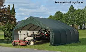 Shelterlogic Run In Sheds by Carports And More Specialty Shelters Farm U0026amp Hay Storage