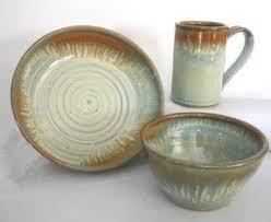 Country Stoneware Dinnerware Sets