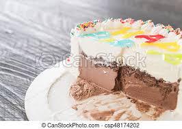 kuchen eis geburstag glücklich kuchen tisch geburstag