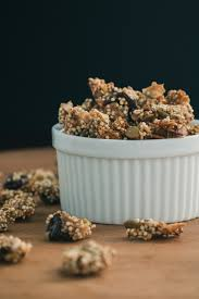 Unsalted Pumpkin Seeds Recipe by Crunchy Quinoa Granola The Road To Honey