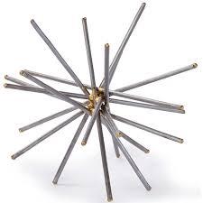 regina andrew design braised spike ball candelabra inc